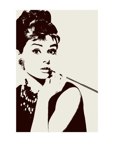 Hepburn, Audrey Reproduction d'art