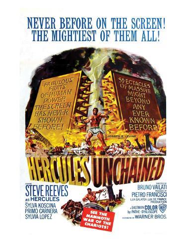 Hercules Unchained - 1959 Reproduction procédé giclée