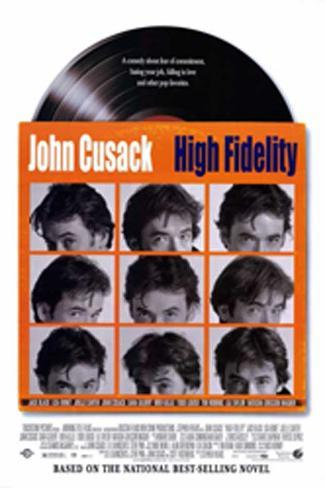 High Fidelity Affiche originale