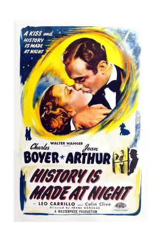 History Is Made at Night, 1937 Reproduction procédé giclée