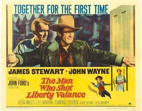 Homme qui tua Liberty Valance, L'|The Man Who Shot Liberty Valance Affiche originale