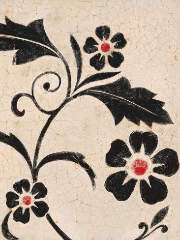 Leaf Textile Reproduction d'art