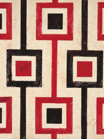 Square Textile Reproduction d'art