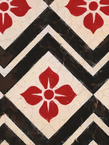 Zigzag Textile Reproduction d'art