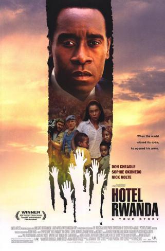 Hotel Rwanda Affiche originale