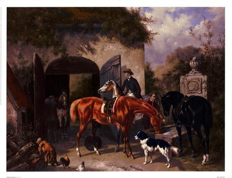 Before The Hunt II Reproduction d'art