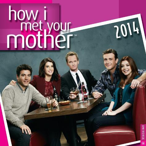 How I Met Your Mother - 2014 Calendar Calendriers