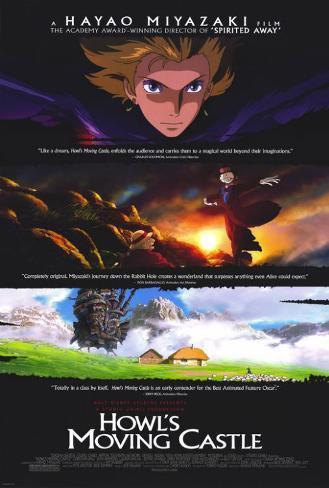 Howl's Moving Castle Affiche originale