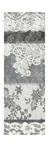 Vintage Lace Panel I Reproduction giclée Premium