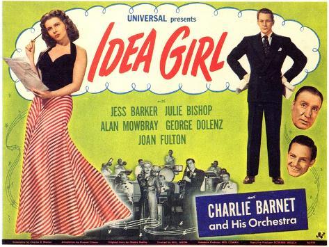 Idea Girl, 1946 Reproduction d'art
