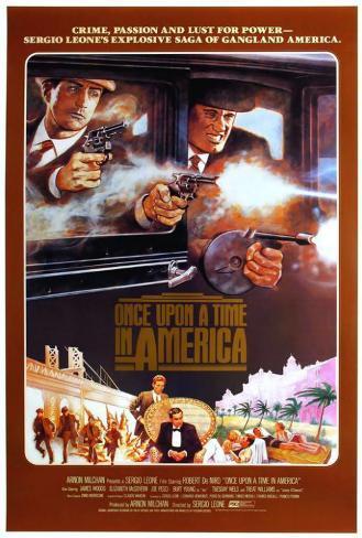Il était une fois en Amérique Poster