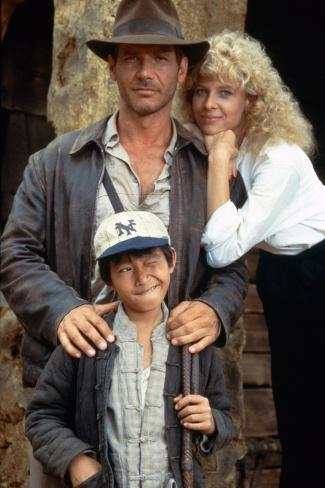 Indiana Jones and the Temple of Doom 1984 Directed by Steven Spi Photographie