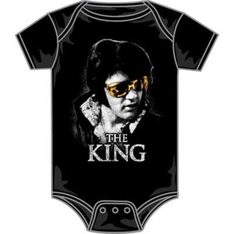 Infant: Elvis Presley - The King Bodysuit T-shirt