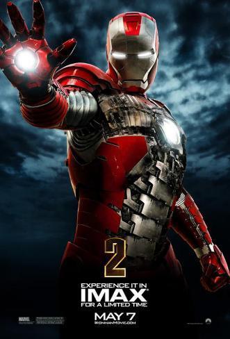 Iron Man (2) Affiche originale