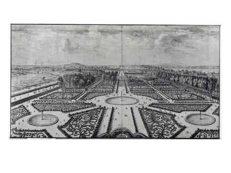 The Tuileries Garden Reproduction procédé giclée
