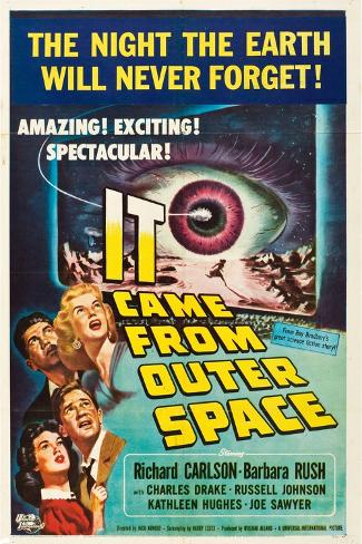 IT CAME FROM OUTER SPACE Reproduction d'art