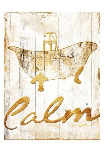Gold Calm Reproduction d'art