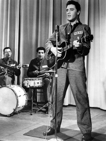Jailhouse Rock, Elvis Presley, 1957 Photographie
