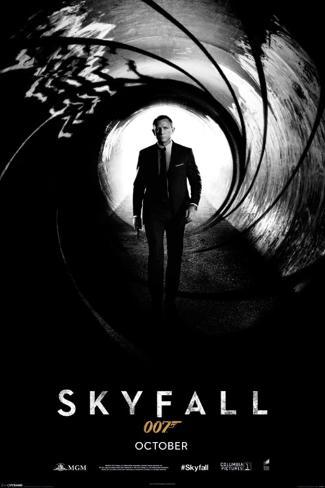 James Bond Skyfall poster teaser Poster