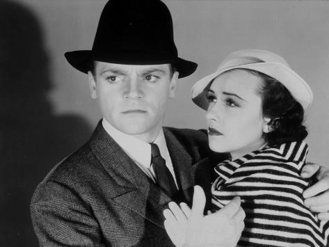 James Cagney et Margaret Lindsay : G Men, 1935 Reproduction photographique