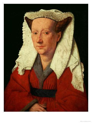 Portrait of Margaret Van Eyck, 1439 Reproduction procédé giclée