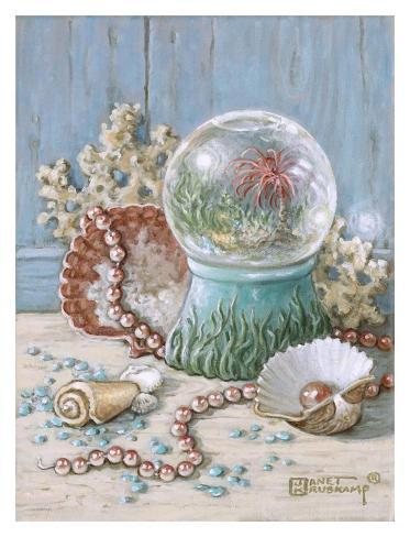 Sea Shell Collection III Reproduction d'art