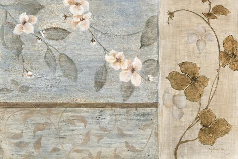 Cerisiers en fleurs II Reproduction d'art