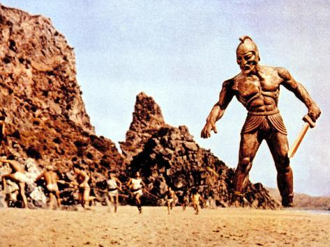 Jason And The Argonauts, Talos, The Bronze Giant, 1963 Photographie