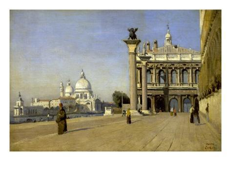 Morning in Venice Reproduction giclée Premium