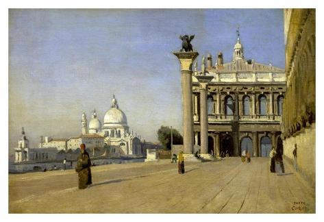 Morning in Venice Reproduction d'art