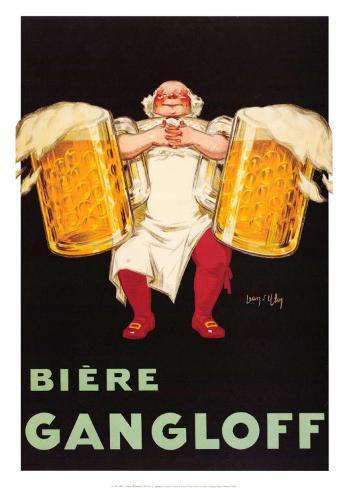 Bière Gangloff Reproduction d'art