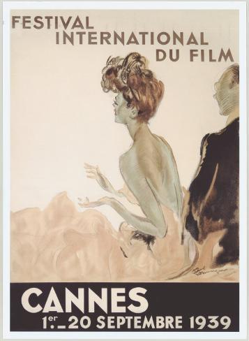Festival International du Film, Cannes, 1939 Reproduction procédé giclée