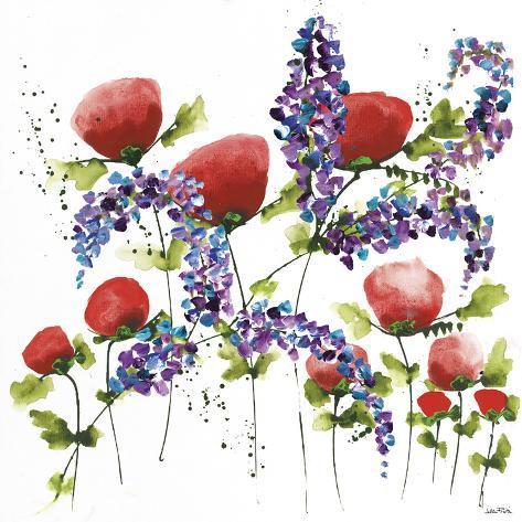 Floral Celebration I Reproduction procédé giclée
