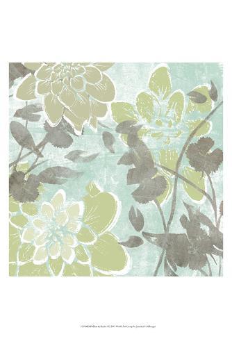 Dahlias & Petals I Reproduction d'art