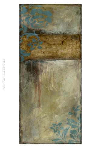 Teal Patina I Reproduction d'art