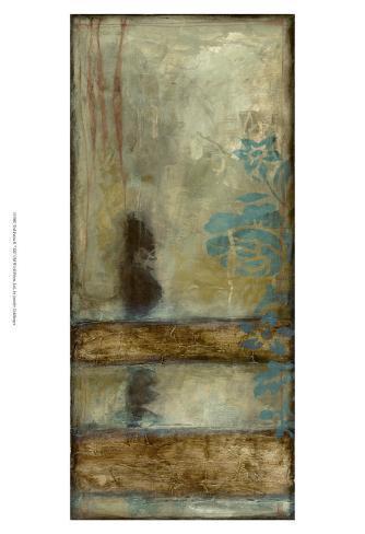 Teal Patina II Reproduction d'art