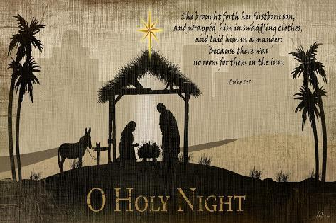 Oh Holy Night Reproduction d'art