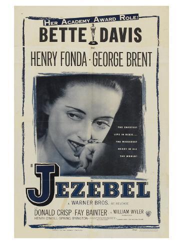 Jezebel, 1938 Reproduction d'art