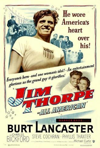 Jim Thorpe - All-American Poster