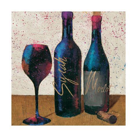 Wine Splash Light II Reproduction d'art