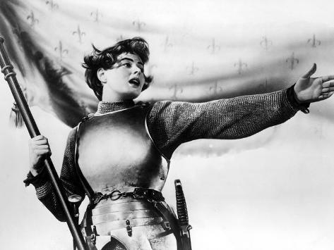 Joan Of Arc, Ingrid Bergman, 1948 Photographie
