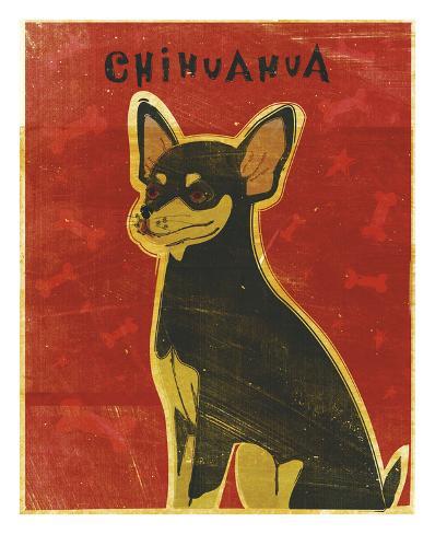Chihuahua (black and tan) Reproduction d'art
