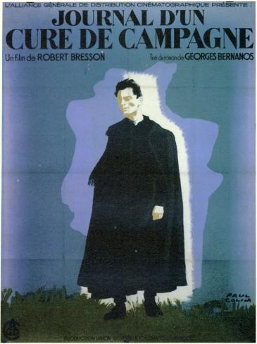 Journal d'un curé de campagne, Le Affiche originale
