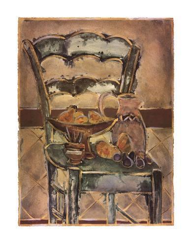 Chaise contemporaine Reproduction d'art