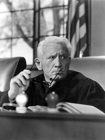 Judgment At Nuremberg, Spencer Tracy, 1961 Photographie