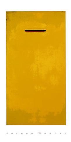 Sans titre (jaune) Sérigraphie