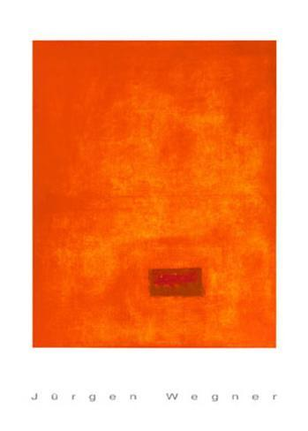 Untitled, c.1991 (Orange) Sérigraphie