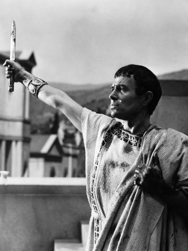 Julius Caesar, James Mason, 1953 Photographie