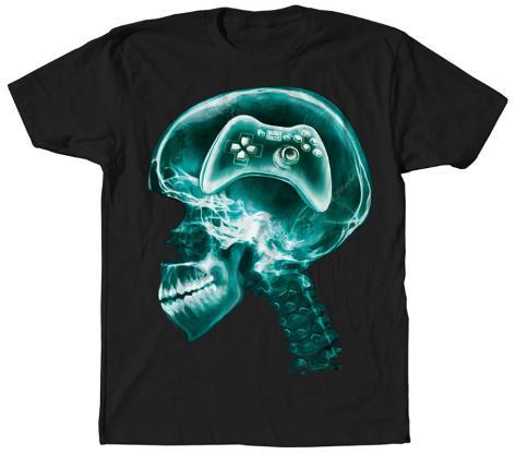 Jumbo Gaming Skull T-shirt