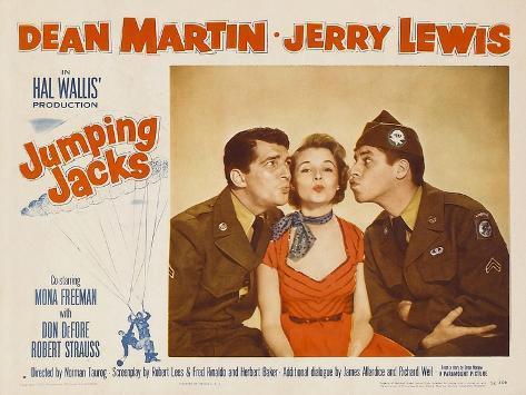 Jumping Jacks, 1952 Reproduction d'art